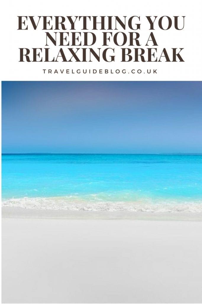 have a relaxing break